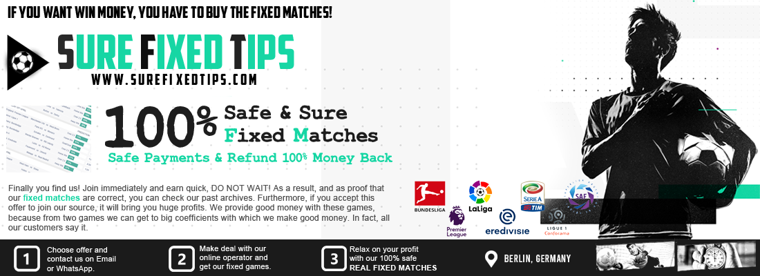 Fixed Matches 100 Sure